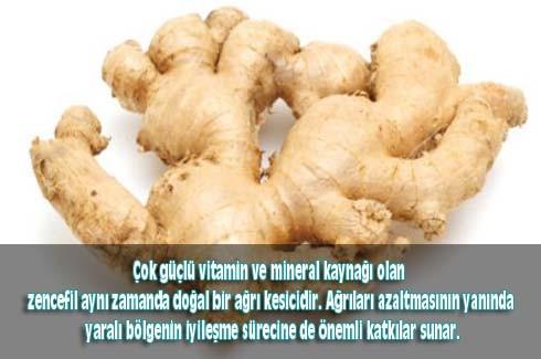 Zencefil kökünün inanılmaz faydaları 8