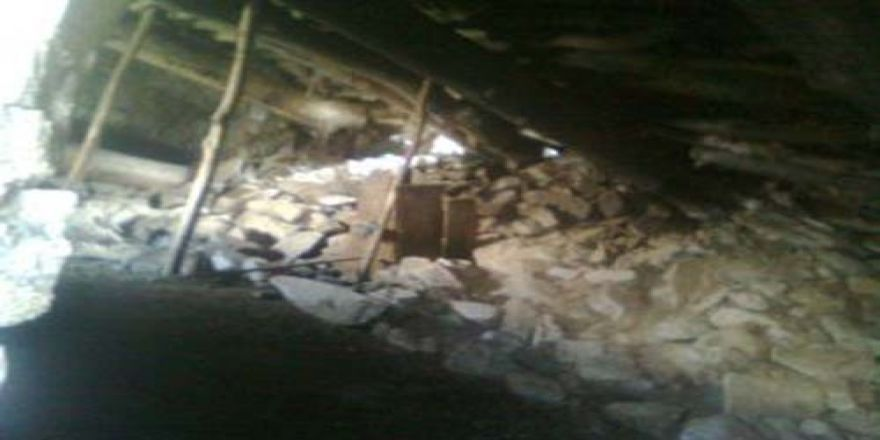 Gaziantep'te Ahır Çökmesi