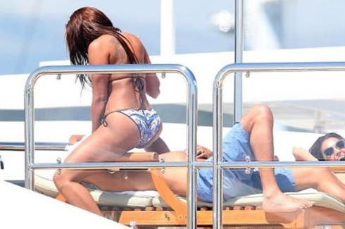 Mel B. Cannes'da havanın ve denizini tadını çıkarıyor 3