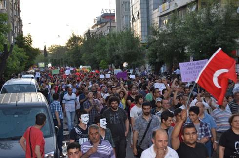 Gaziantep'ten Gezi Parkı için coşkulu destek 3