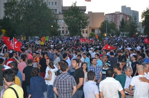 Gaziantep'ten Gezi Parkı için coşkulu destek 4