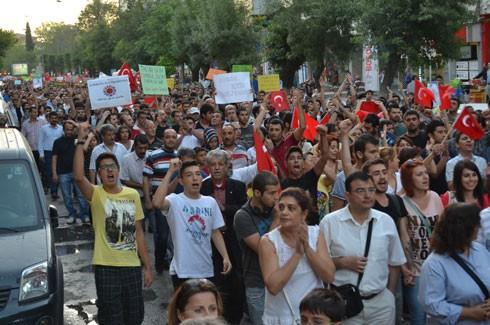 Gaziantep'ten Gezi Parkı için coşkulu destek 7