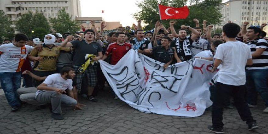 Gaziantep'ten Gezi Parkı için coşkulu destek