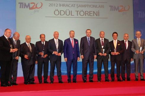 İhracat şampiyonlarına ödül 5