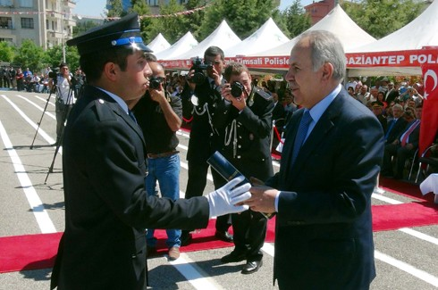 Gaziantep'te 194 polis adayı mezun oldu 11