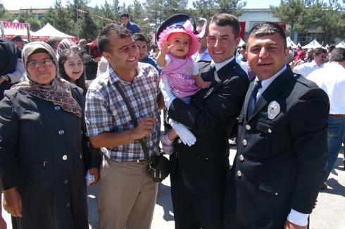 Gaziantep'te 194 polis adayı mezun oldu 4