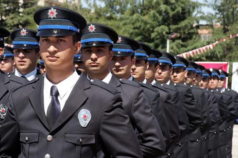 Gaziantep'te 194 polis adayı mezun oldu 9