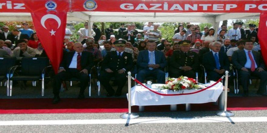 Gaziantep'te 194 polis adayı mezun oldu