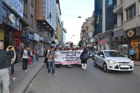 Avukatlardan protestoculara destek  19
