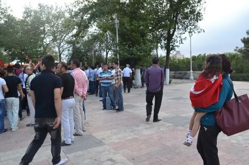 Avukatlardan protestoculara destek  6