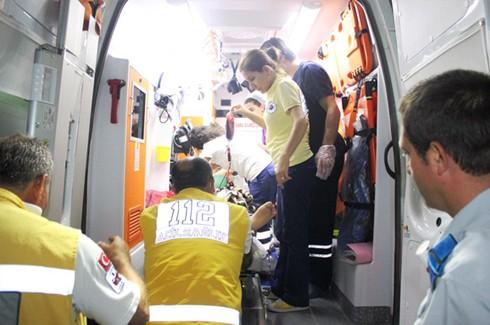 Zincirleme kazada 4 yaralı 4
