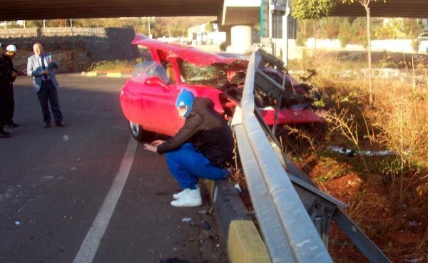 Alkollü Milevskiy kaza yaptı 2