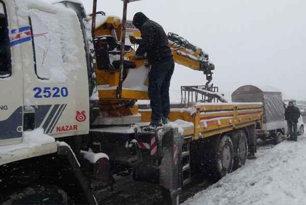 Gaziantep'ten kar manzaraları 10