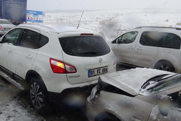 Gaziantep'ten kar manzaraları 11