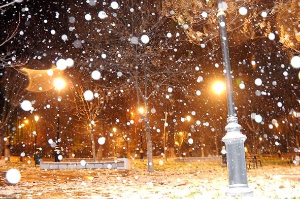 Gaziantep'ten kar manzaraları 18