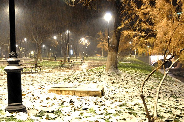 Gaziantep'ten kar manzaraları 19
