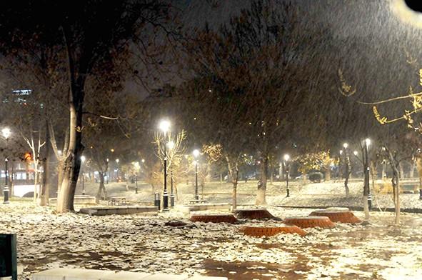 Gaziantep'ten kar manzaraları 25
