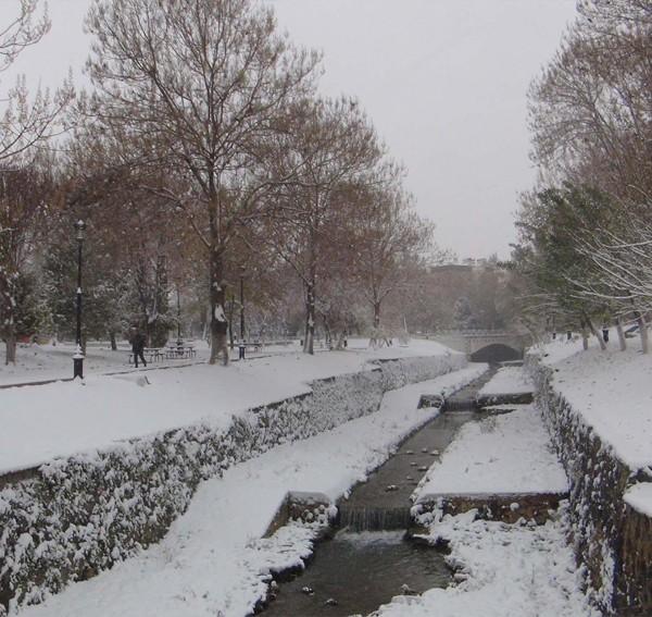 Gaziantep'ten kar manzaraları 3