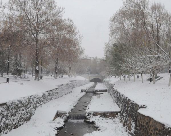 Gaziantep'ten kar manzaraları 5