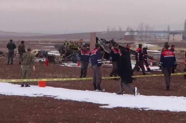 Helikopter düştü: 4 Şehit 12