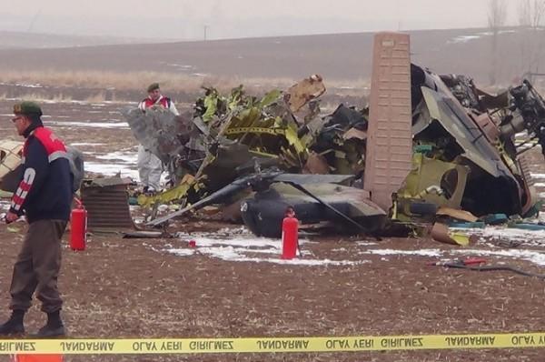 Helikopter düştü: 4 Şehit 7