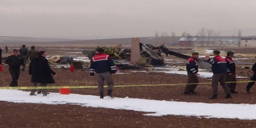 Helikopter düştü: 4 Şehit