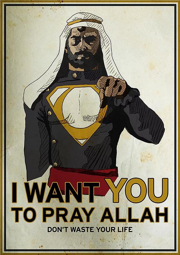 Süpermen Müslüman olsaydı 5