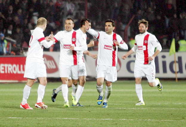 Gaziantepspor - Beşiktaş 1-2 1