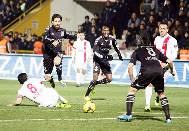 Gaziantepspor - Beşiktaş 1-2 15