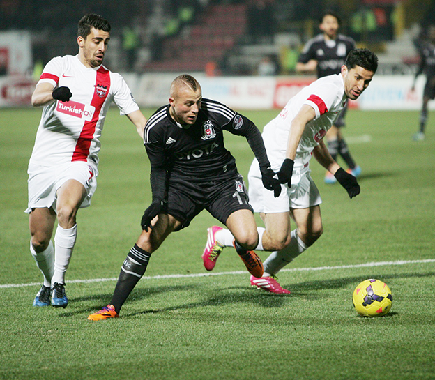 Gaziantepspor - Beşiktaş 1-2 5