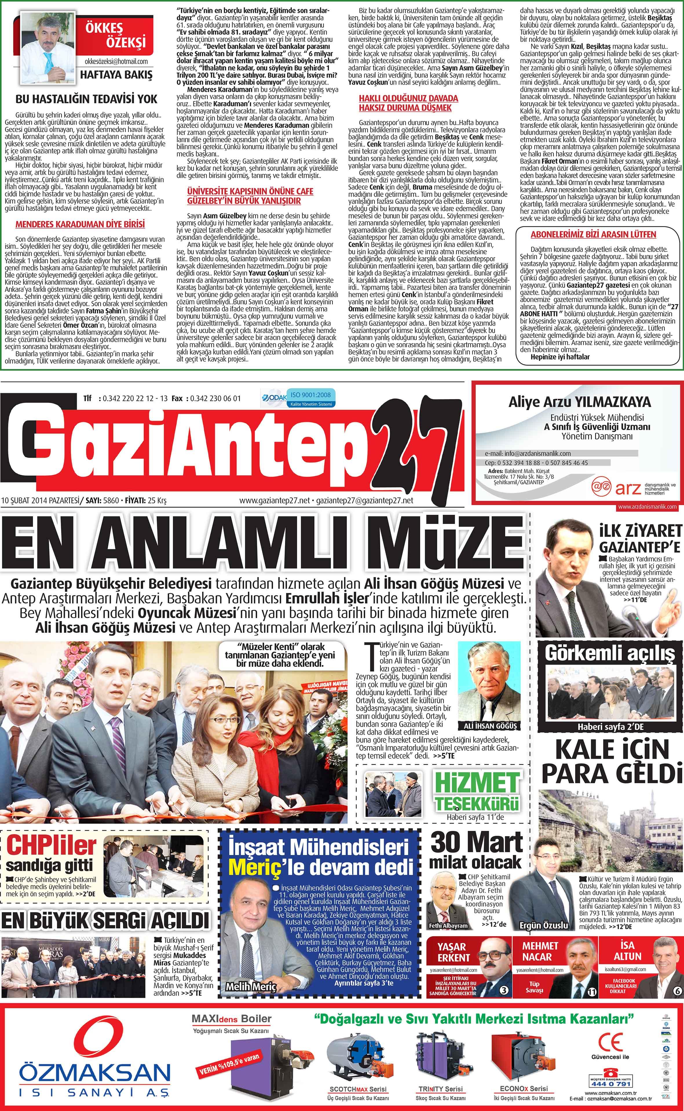 10 Şubat 2014 sayfalar 2