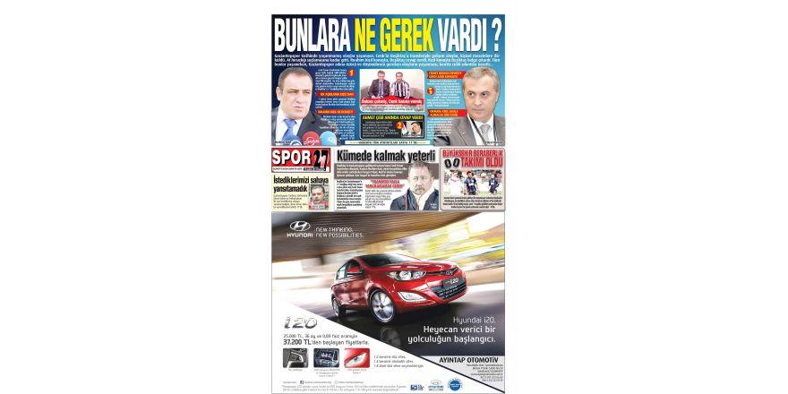 10 Şubat 2014 sayfalar