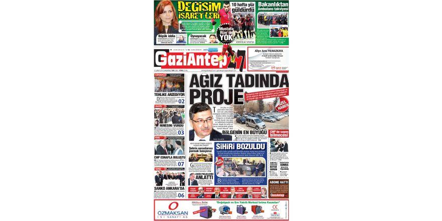 12 Şubat 2014 Sayfalar