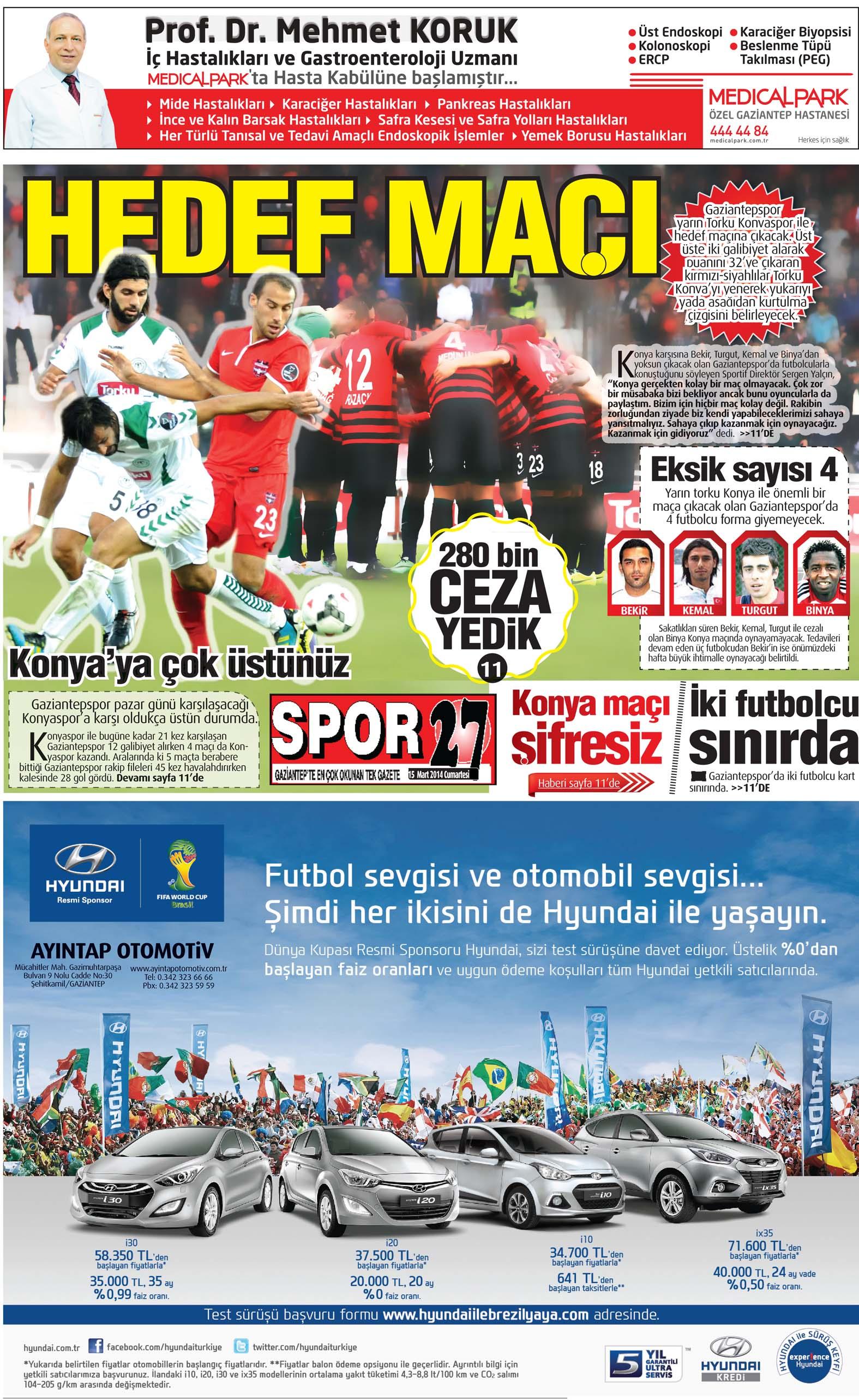 15 Ocak 2014 Sayfalar 2
