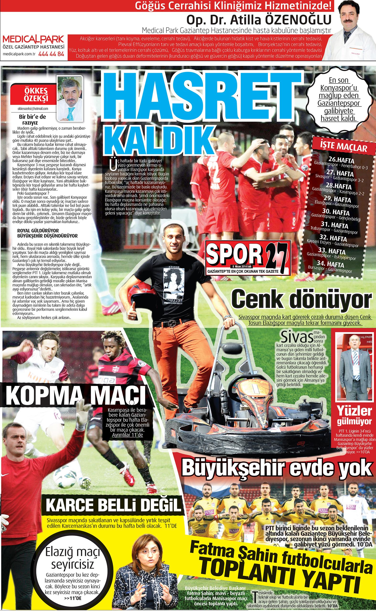 8 Nisan 2014 sayfalar 2
