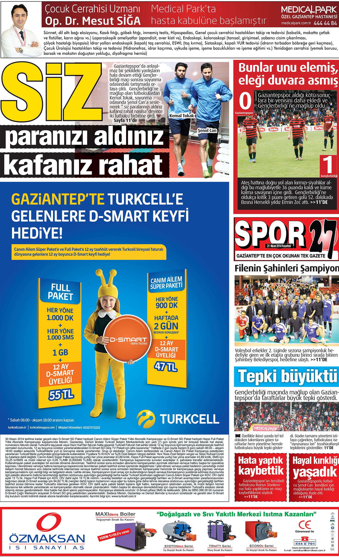 21 Nisan 2014 sayfalar 2