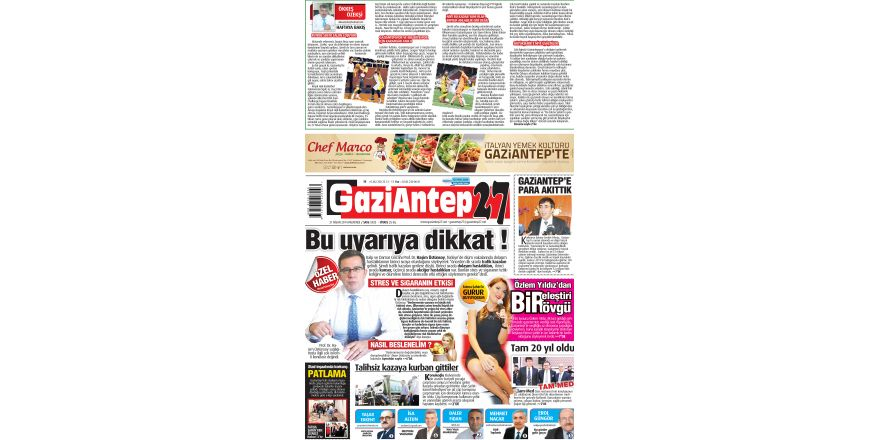 21 Nisan 2014 sayfalar