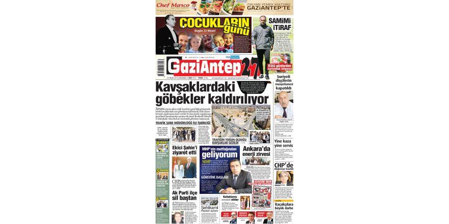 23 Nisan 2014 sayfalar
