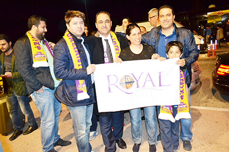 Royal'a muhteşem karşılama 4