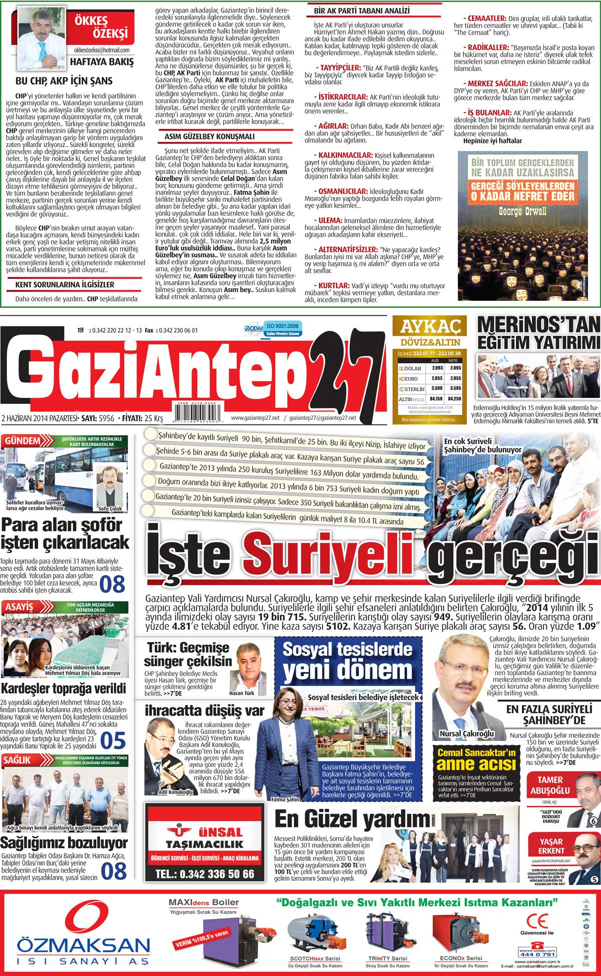 2 HAZİRAN 2014 SAYFALARI 2