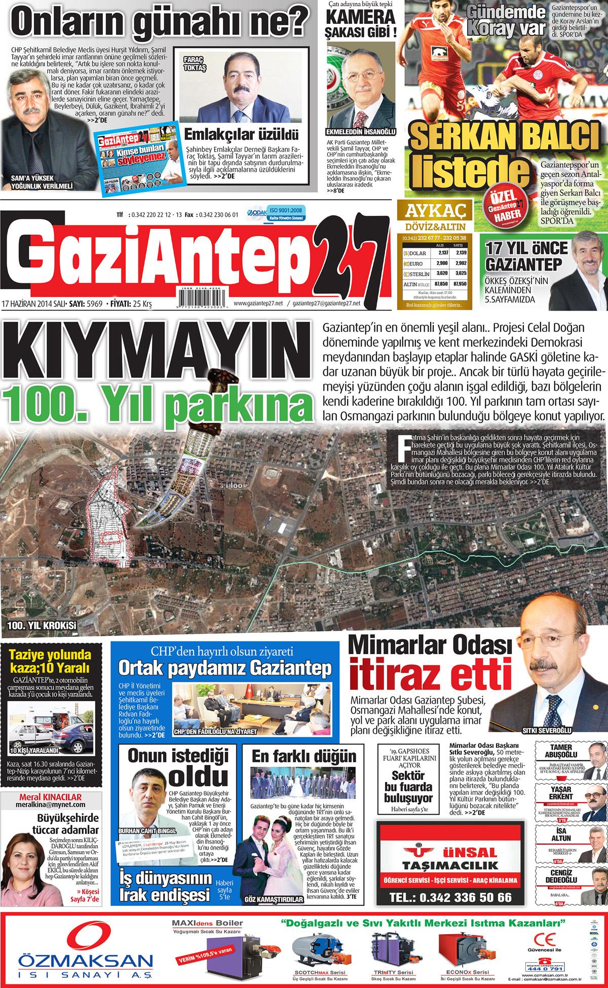 17 HAZİRAN 2014 SAYFALARI 1