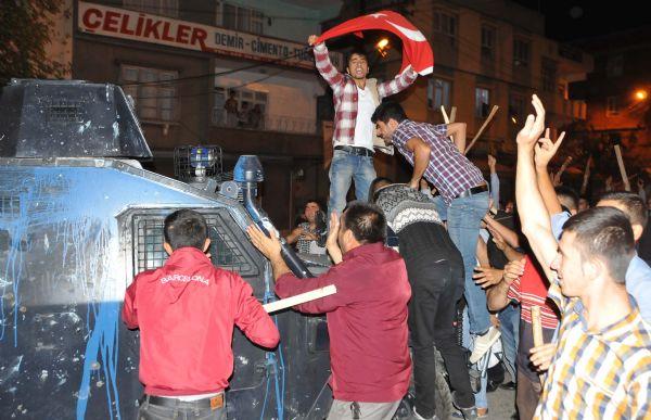 GAZİANTEP'TE ÇATIŞMA 2