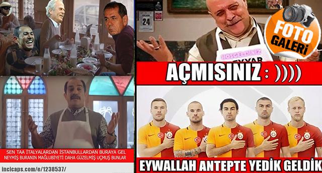 Gaziantepspor - Galatasaray CAPS'leri 1