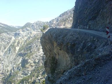 Türkiye'nin en tehlikeli yolları 8