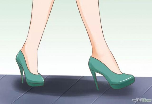 Topuklu ayakkabı giymenin incelikleri 2