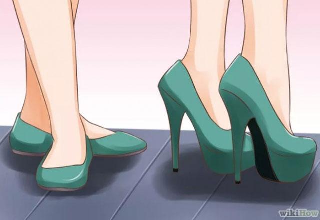 Topuklu ayakkabı giymenin incelikleri 8