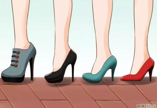 Topuklu ayakkabı giymenin incelikleri 9