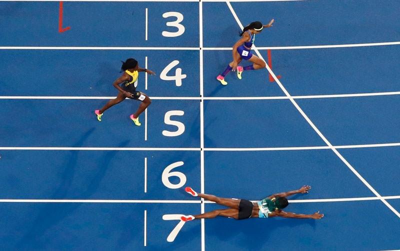 Olimpiyat Oyunları'nda tarihi olay 1