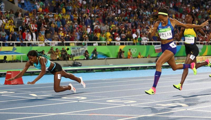 Olimpiyat Oyunları'nda tarihi olay 4