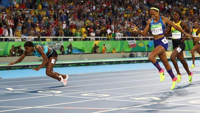 Olimpiyat Oyunları'nda tarihi olay 5